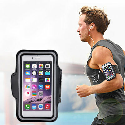 Sports Exercise Running Gym Armband Pouch Holder Case Bag for Cell Phone F7