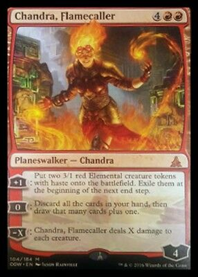 MTG: Chandra, Flamecaller - Red Mythic - Oath of the Gatewatch - OGW