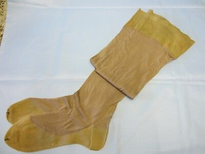 Ladies Vintage Silk Stockings, w/ Seam Up the Back, Opaque Authentic