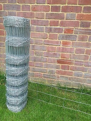 Stock Fence Cattle Sheep Pig L8/80/15 Hot Dip Galv 80cm (800mm) x 50mtrs