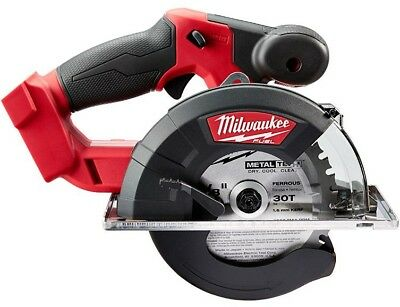 Milwaukee M18 FUEL 18-Volt Lithium-Ion Brushless Cordless Red Circular Metal Saw