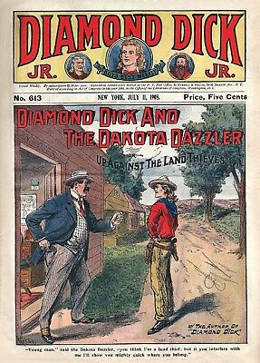 PRINT & FRAME FOR CASH - OLD WESTERN COMIC COVERS - Restored Image Collection