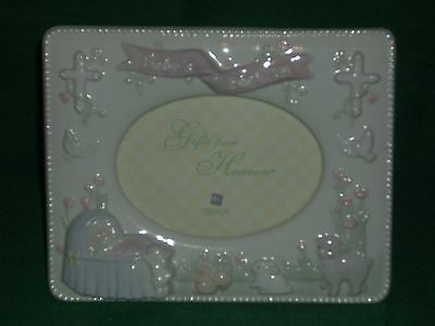 Baby's Baptism Picture Frame by Russ