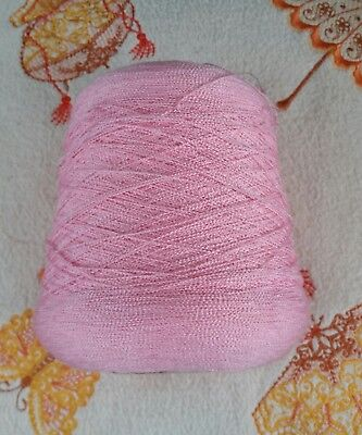 approx 630g light pink filigree please see description