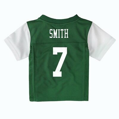 Geno Smith NFL New York Jets Green Home Mid Tier Infant Jersey