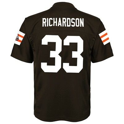 Trent Richardson NFL Cleveland Browns Mid Tier Home Brown Jersey Youth (S-XL)