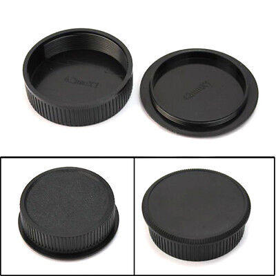 42mm Plastic Front Rear Cap Cover For M42 Digital Camera Body And Lens Portable,