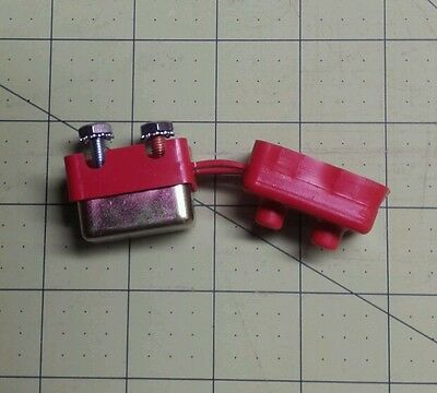 coleman popup camper battery harness self resetting fuse and insulator  4751-4811