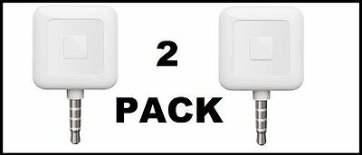 2 PACK - Square Register Debit/Credit Card Readers For Iphone OR Android Devices