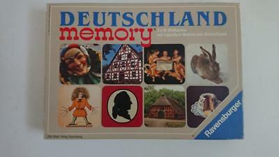 Memory Card Matching Game - Ravensburger 1987 Complete German images