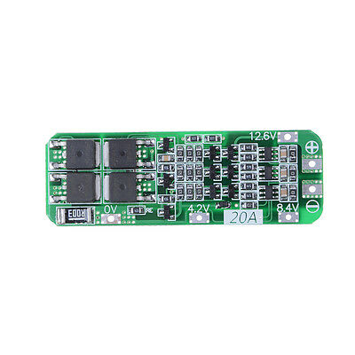 3S 20A 12.6V Cell 18650Li-ion Lithium Battery Charger BMS Protection PCB Boar Gx