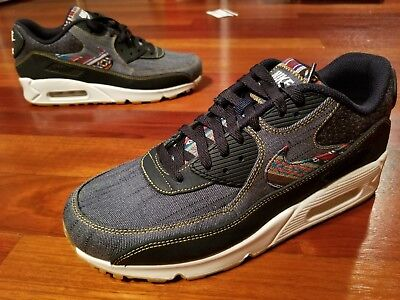 pretty nice 78d60 695be Nike AIR MAX 90 PREMIUM  Afro Punk Denim  700155-402  DARK OBSIDIAN