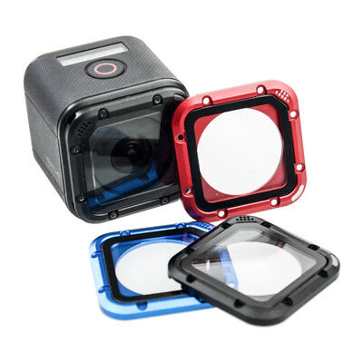 Aluminum Frame Glass Lens Cover Replacement Kit for GoPro HERO 5/4 Session