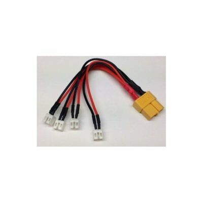 Ladeadapter 4-fach parallel PWC PowerWhoopConnector / mcpx--> XT60 (ISDT) mylipo