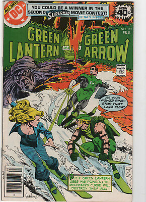Green Lantern #113 with Green Arrow, Black Canary-VF-Bronze age-lot D0818-001