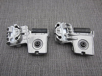 2X Vw Golf Front Left Window Regulator Metal Clips