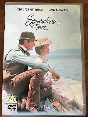 Christopher Reeve Jane Seymour SOMEWHERE IN TIME ~ 1980 Cult Classic UK DVD