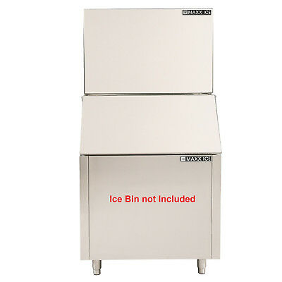 Maxx Ice MIM615H 615lb Commercial Cuber Clear Ice Maker Machine Head No Bin 220V