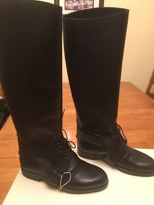Golden Goose Riding Boots removable strap black, size 6 brand New