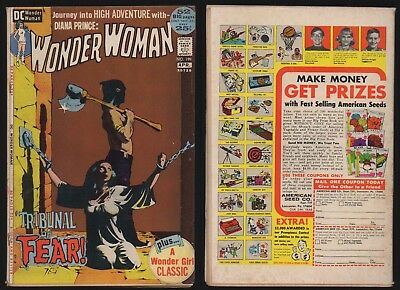 Wonder Woman #199 (1St Series) *bondage Cover* Classic Cover Art Dc Comics