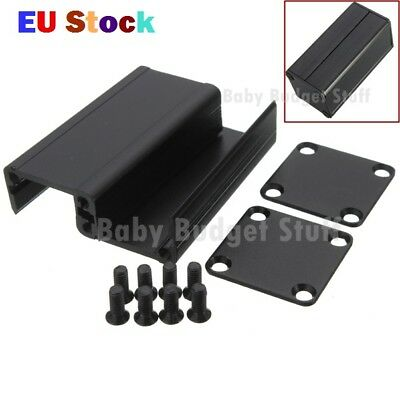 1PC Black Extruded Aluminum Project Box Electronic Enclosure Case DIY 50*25*25MM