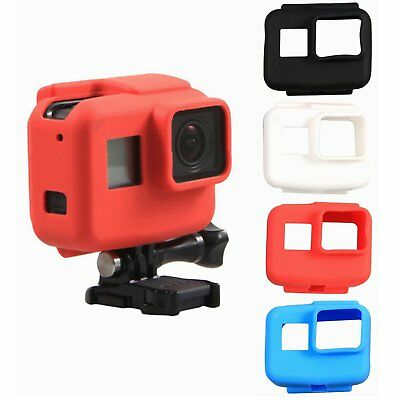 Gopro Hero 5 Soft Silicone Rubber Protective Cover Housing Frame Case Shell NEW