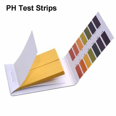 5*80 400pcs PH Test Strips Litmus Tester Alkaline Acid 1-14 Indicator Paper