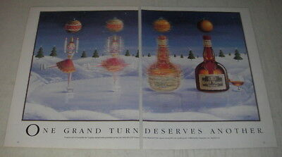 1989 Grand Marnier Liqueur Ad - One grand turn deserves another