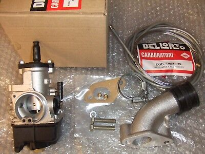 VESPA DELL ORTO Phbh Bs 28 Mm Carburettor Kit Jetted New  Px-T5-Lml-Malossi