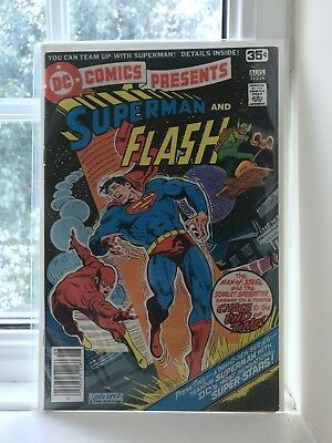 DC Superman and The Flash #1 1978 - VG 4.0