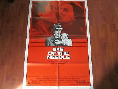 Eye of the Needle 1981 Original Movie Poster (27 x 41)