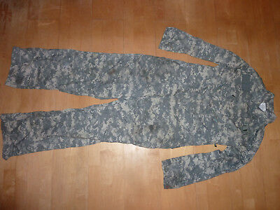 Orig. Army ACU Overall Coveralls Mechanics L LARGE