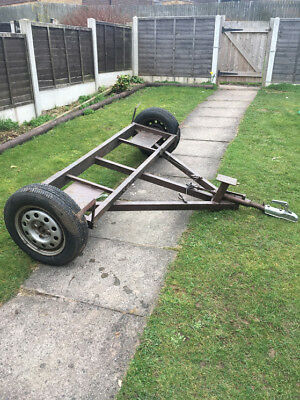 BRAKED RECOVERY TOWING dolly A frame Heavy duty (mount for winch ...