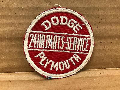 "Vintage Original 1950/60's Embroidered Dodge Plymouth Jacket Patch 3"" X 3"""