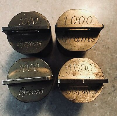 1000 Grams Brass Weight for Calibrating Scale