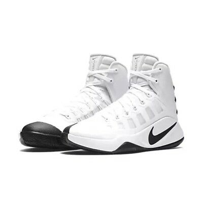 6a280f380701 Nike Women s Hyperdunk 2016 High Basketball Shoes White Black 844391-110  Size 5