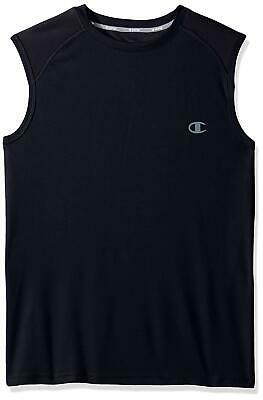 73f29855 Champion Men's Performance Vapor Muscle Tank Top NWT Size Small Gray or Navy