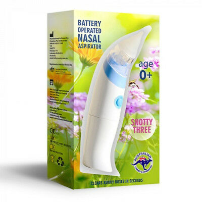 Snotty Three Battery Operated Nasal Aspirator