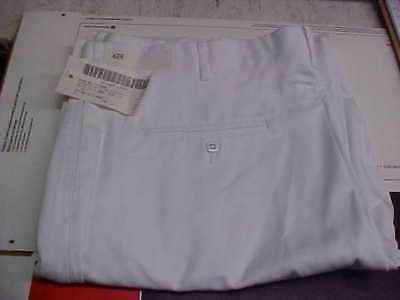 50% Navy Cracker Jack Sea Cadet Male Dress White Trousers Bell Bottoms 42R #w47