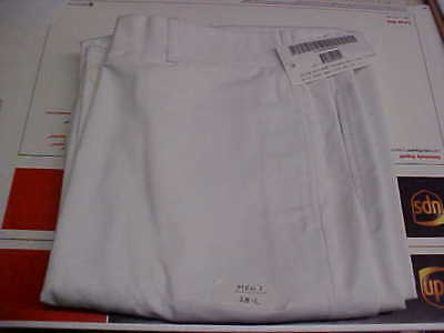 50% NEW Navy Sea Cadet Enlisted Male Dress White Trousers Bell Bottoms 38L #w42