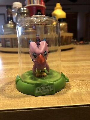 "Digimon Domez Biyomon 2"" Collectible Mini Action Figure Rare New Limited"