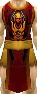 WOW World of Warcraft Loot Card Tabard of Flame - Red Tabard Landro Longshot TCG