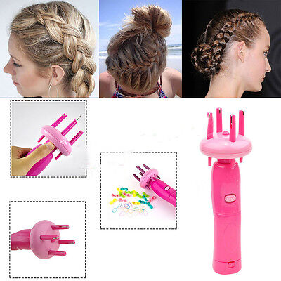 Automatic Twist Braid Knitted Device 4Head Hair Braider Styling Gadget For Girls