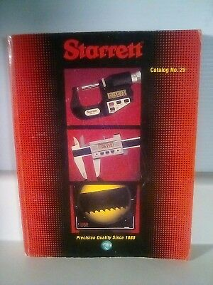 Starrett Precision Tool Catalog/Reference ~700+Pages, No.29 Circa April 1996