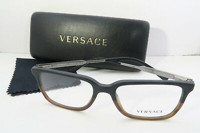 Versace Women's Brown Glasses with case MOD 3209 5134 53mm