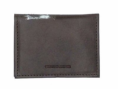 new arrival 0b2cb 8870c $75 TOMMY HILFIGER Men Brown Leather Photo Id Credit Card Case Fold Valet  Wallet