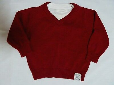 ~~  Pumpkin Patch Jumper As New Sz.6-12m  ~~