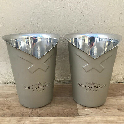 Vintage French Champagne French Ice Bucket Cooler Basin MOET set of 2 0904189