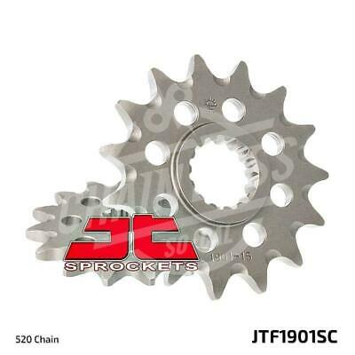 JT Sprockets 520 Front Sprocket Self Cleaning Steel 14T Natural JTF1901.14SC