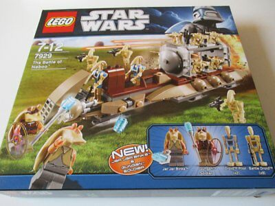 LEGO 7929 Star Wars The Battle of Naboo OVP